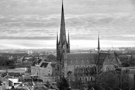 <strong>Het Kasteel en de Bonaventura kerk I</strong>